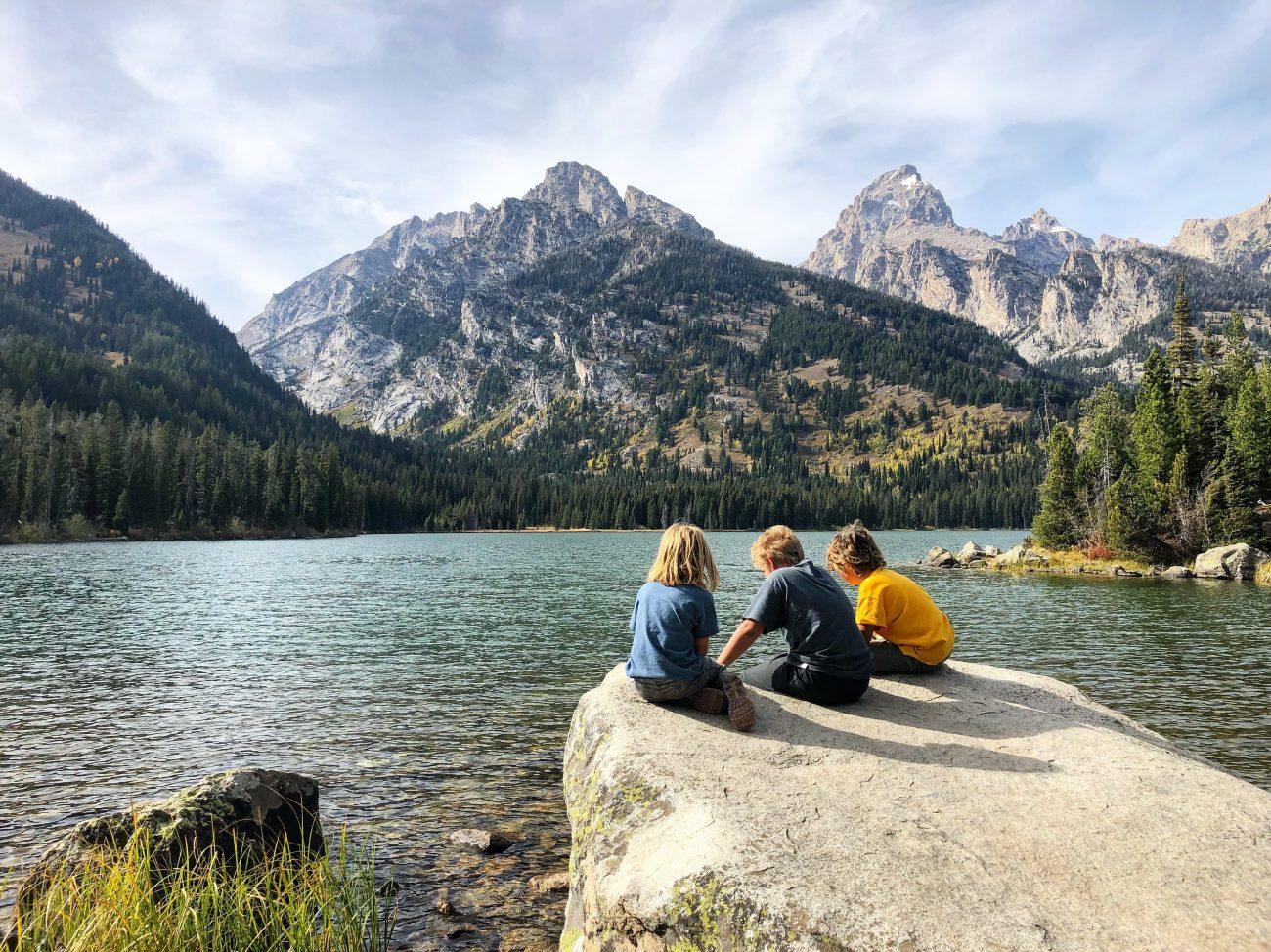 Grand Teton Kids Lake