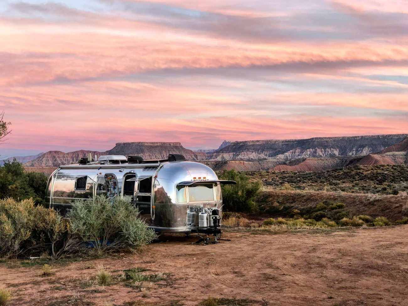 Hurricane Airstream Sunset