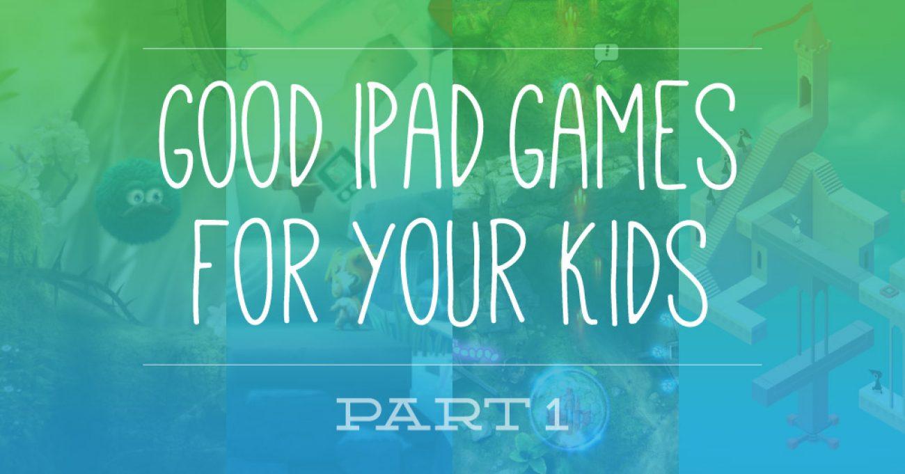 Ipad Games Part1
