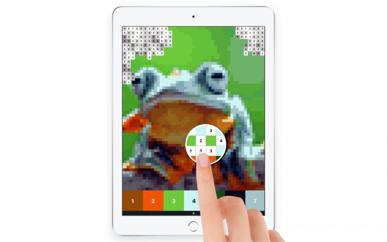 Ipad pixel art