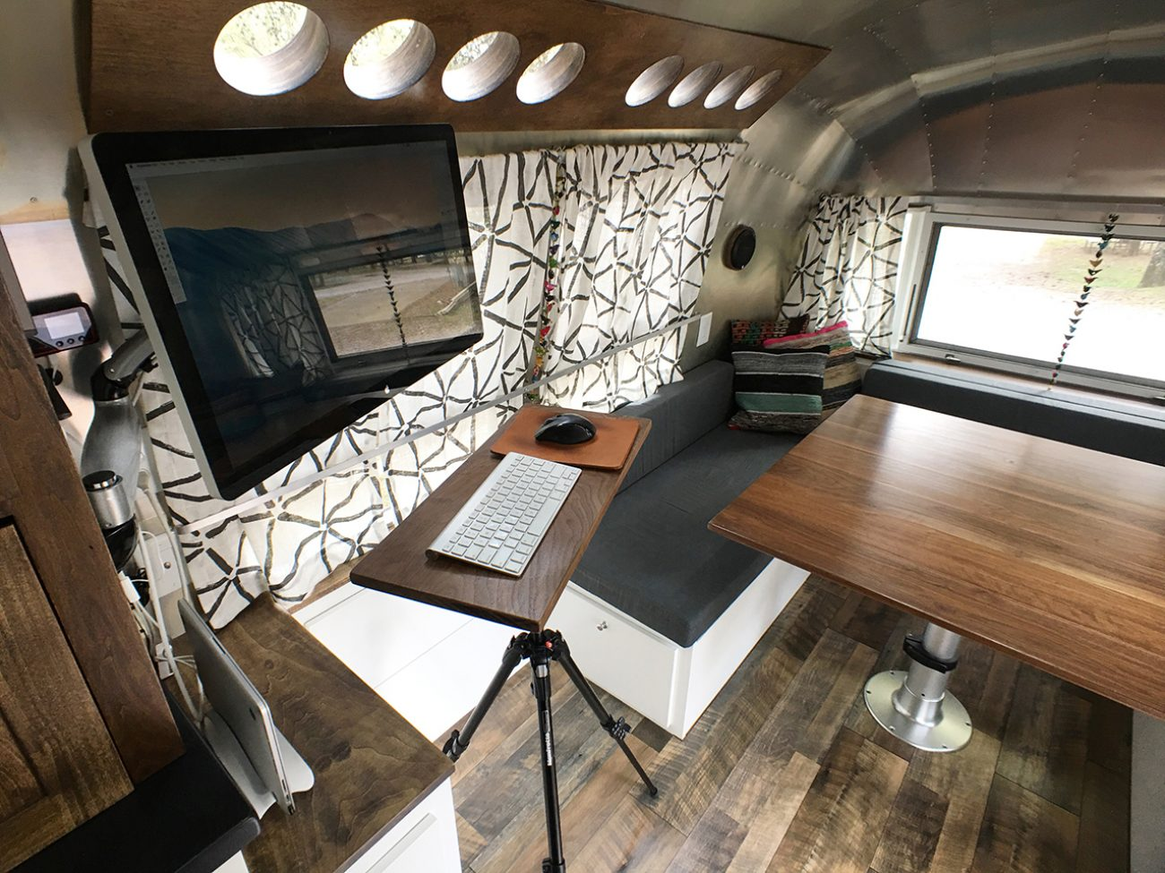 Airstream Renovation Tour Before And After Tiny Shiny Home