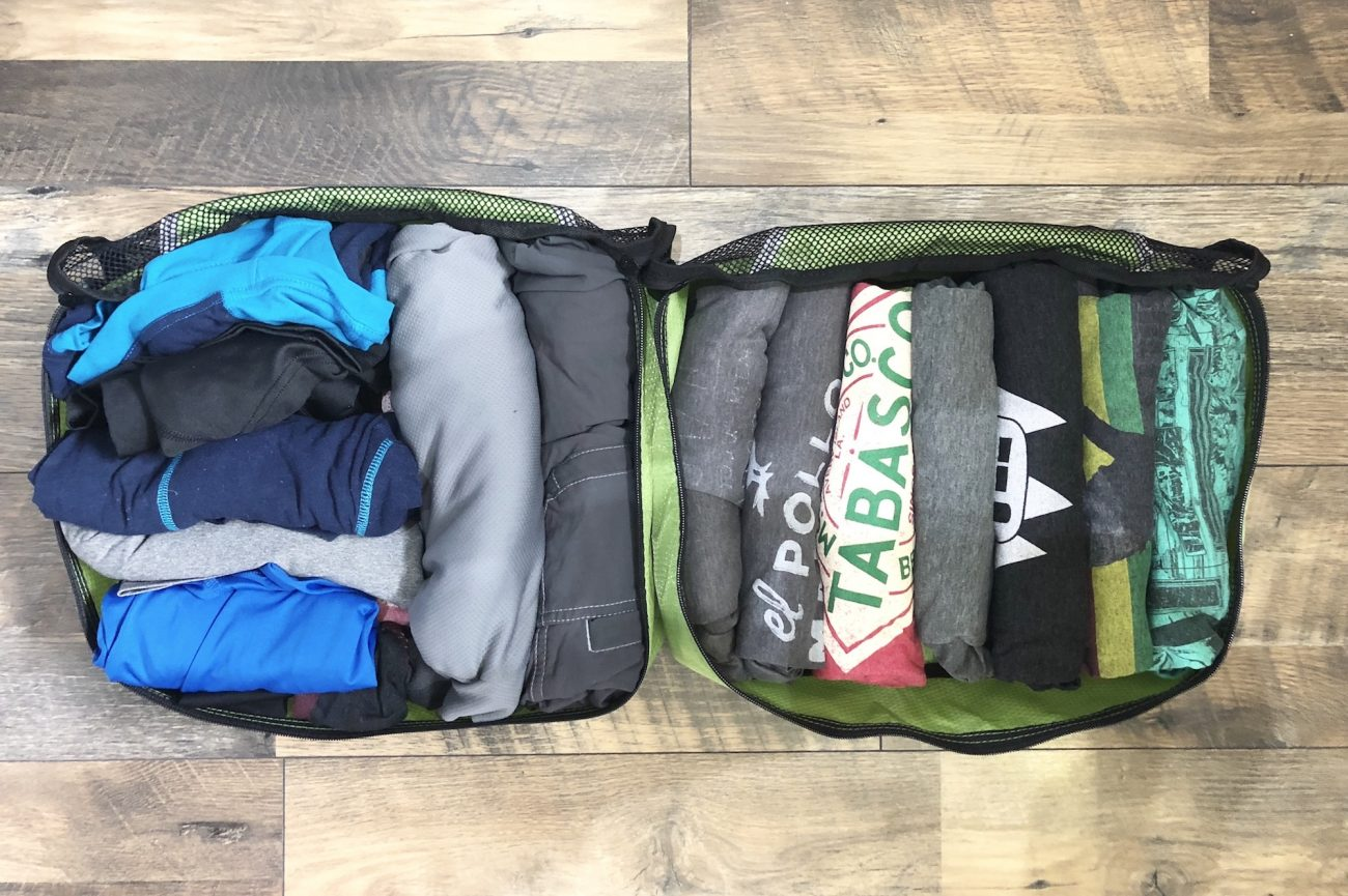Jon's Packing Cubes from eBags