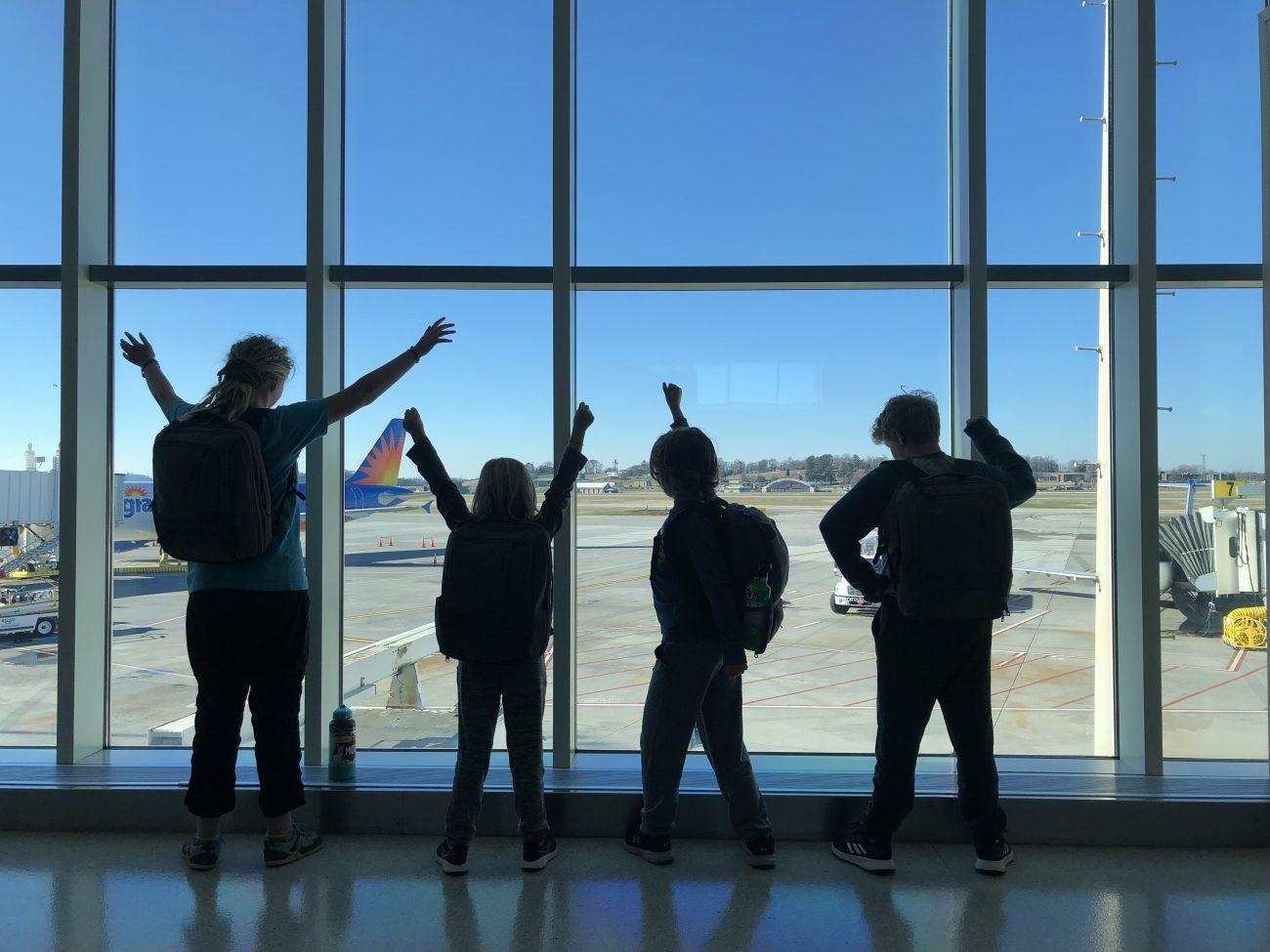 Kids first flight