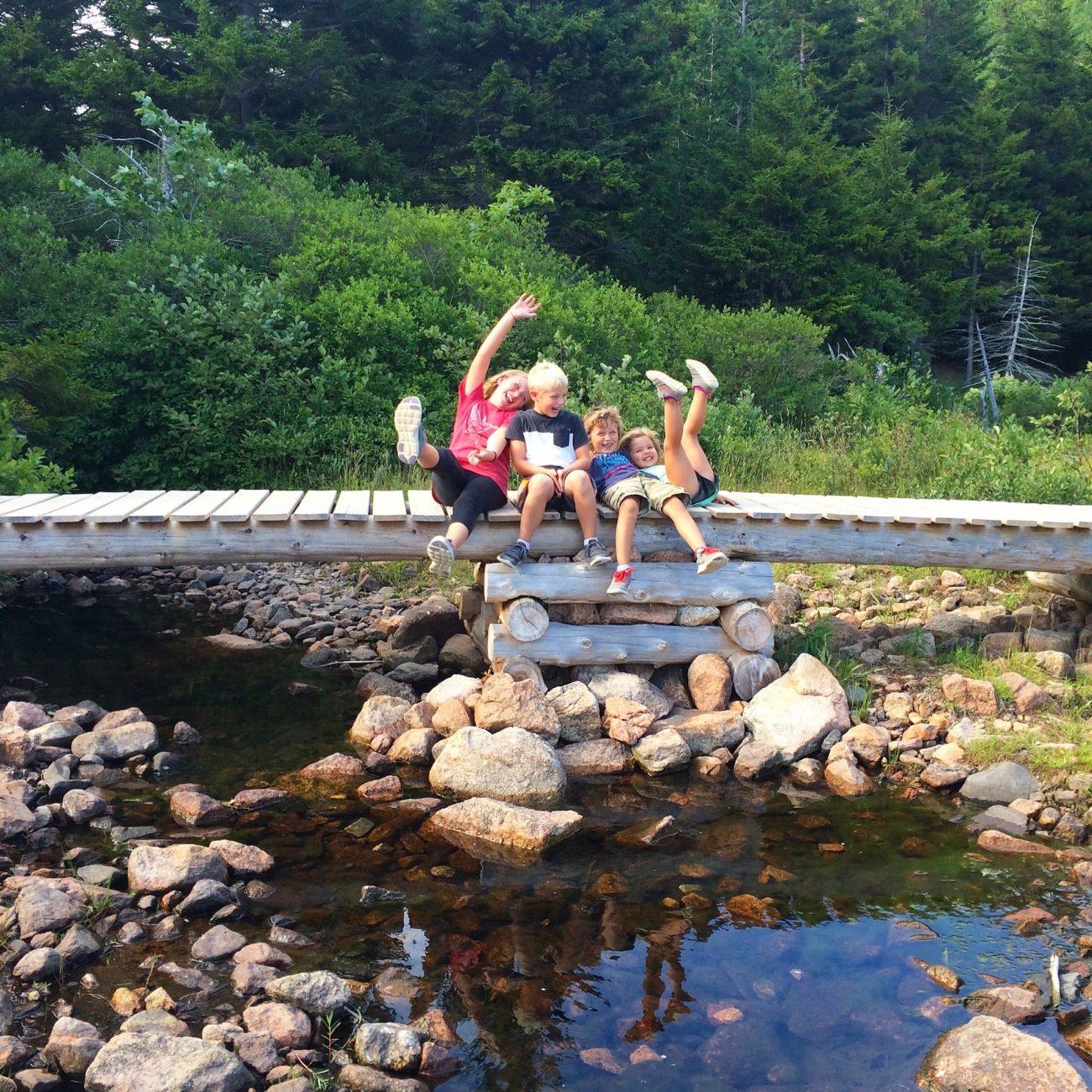 kids in Acadia