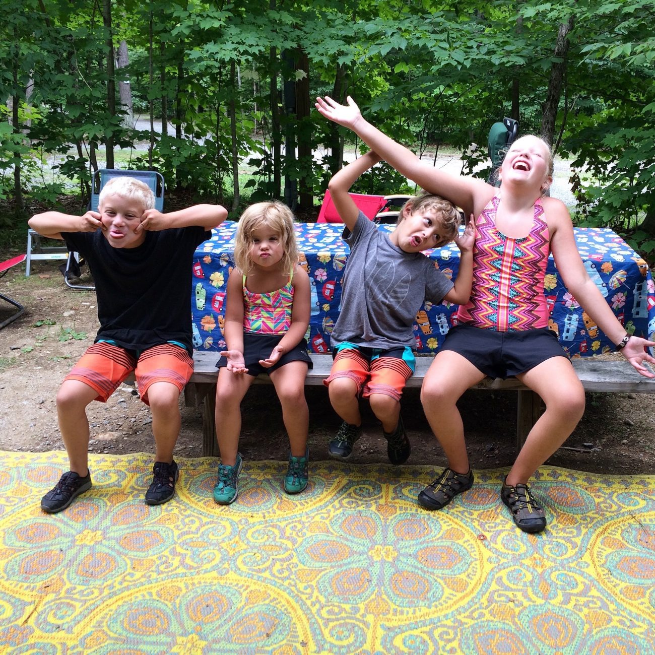 kids together in New York 2015