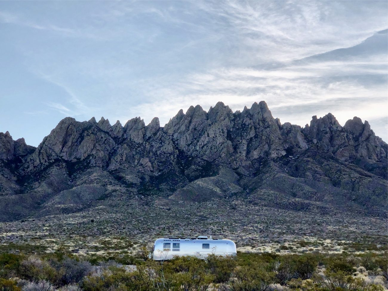 Las Cruces Mountains Airstream