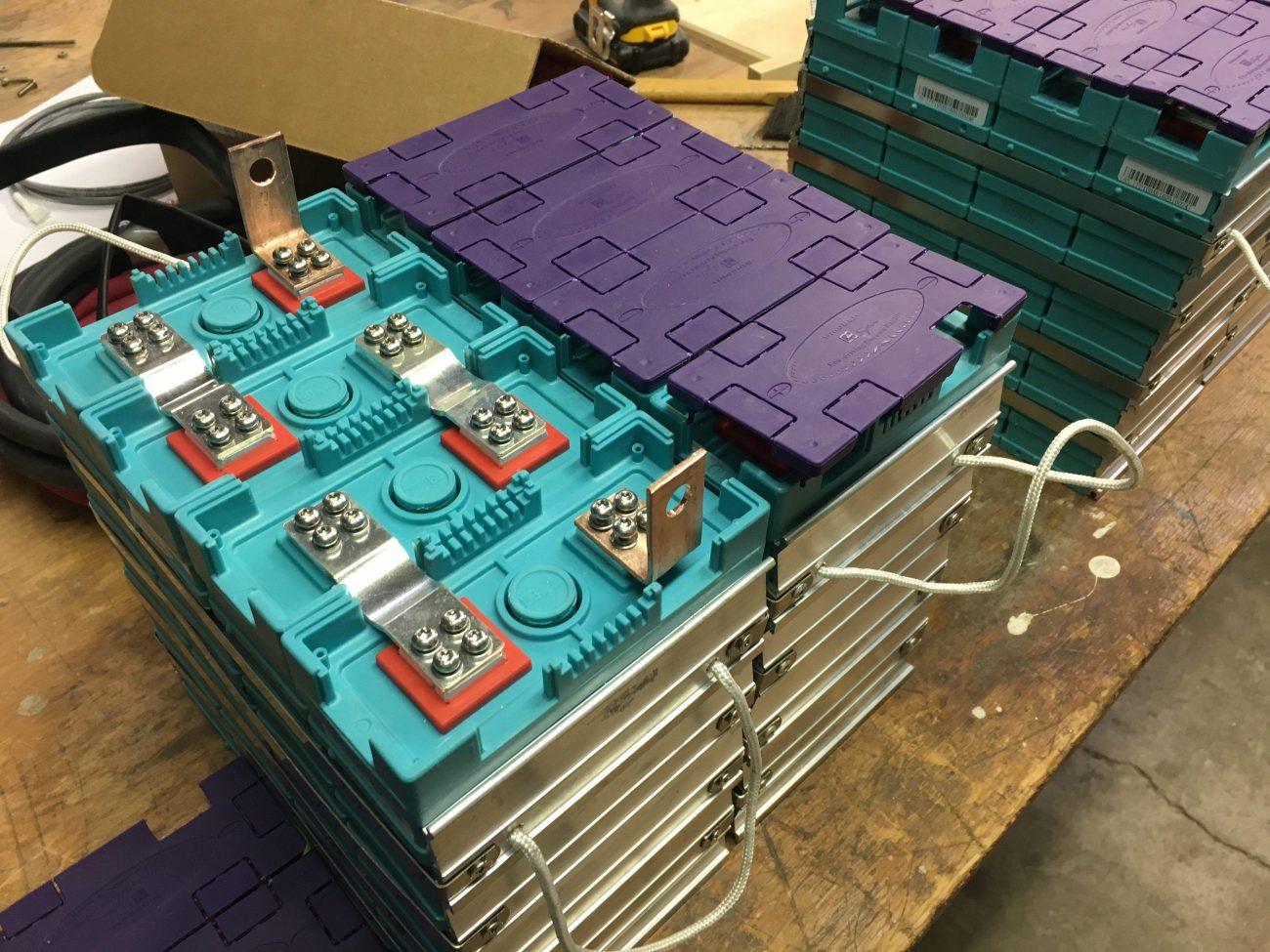 Adding copper bars in preparation for sense boards.