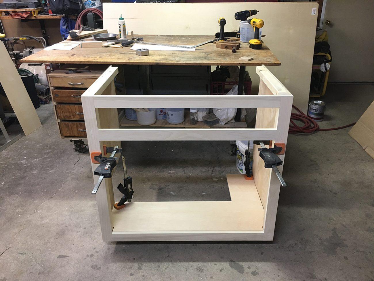 Lower Pantry Built In Garage