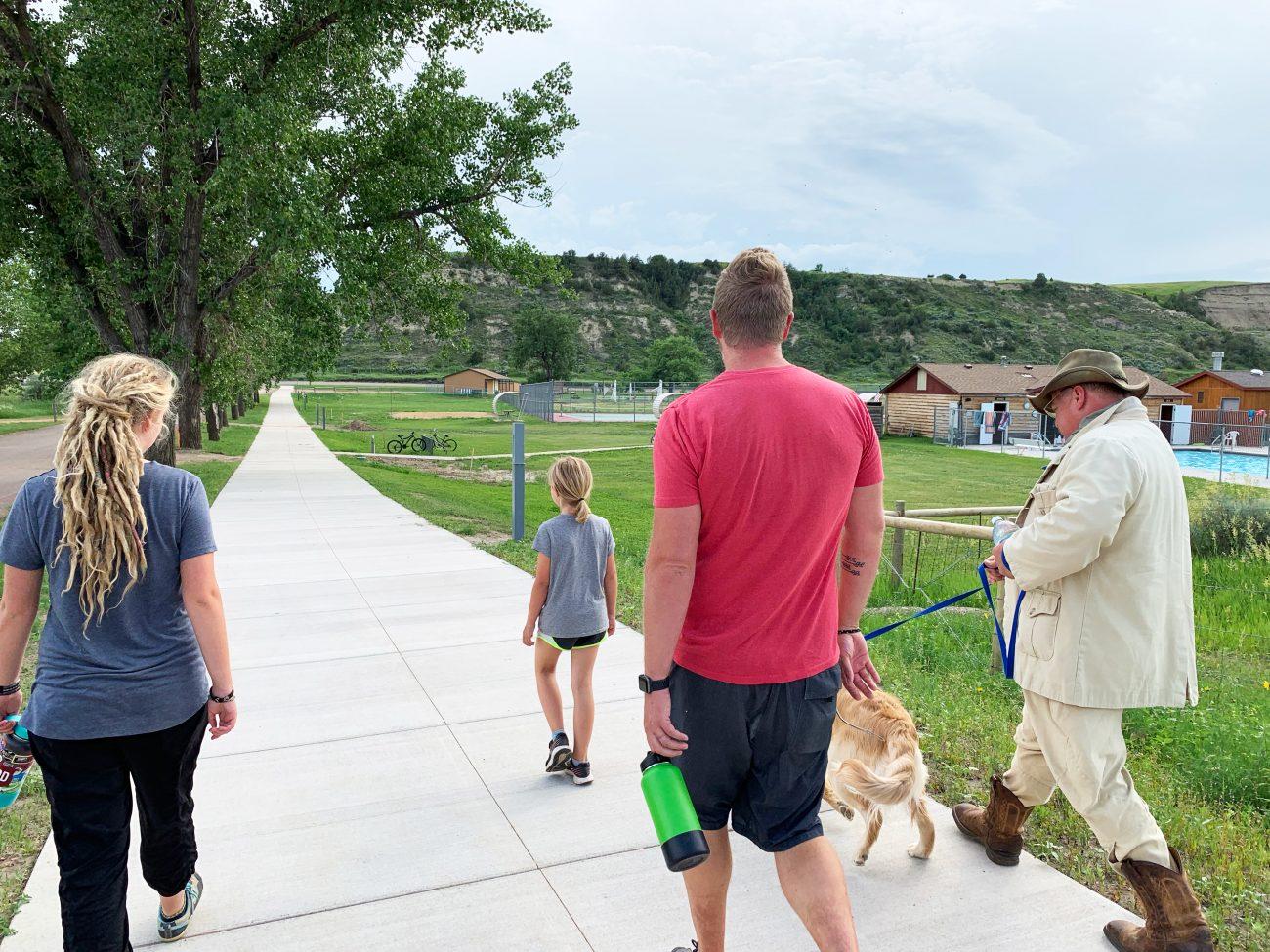 Medora Teddy Roosevelt Walk