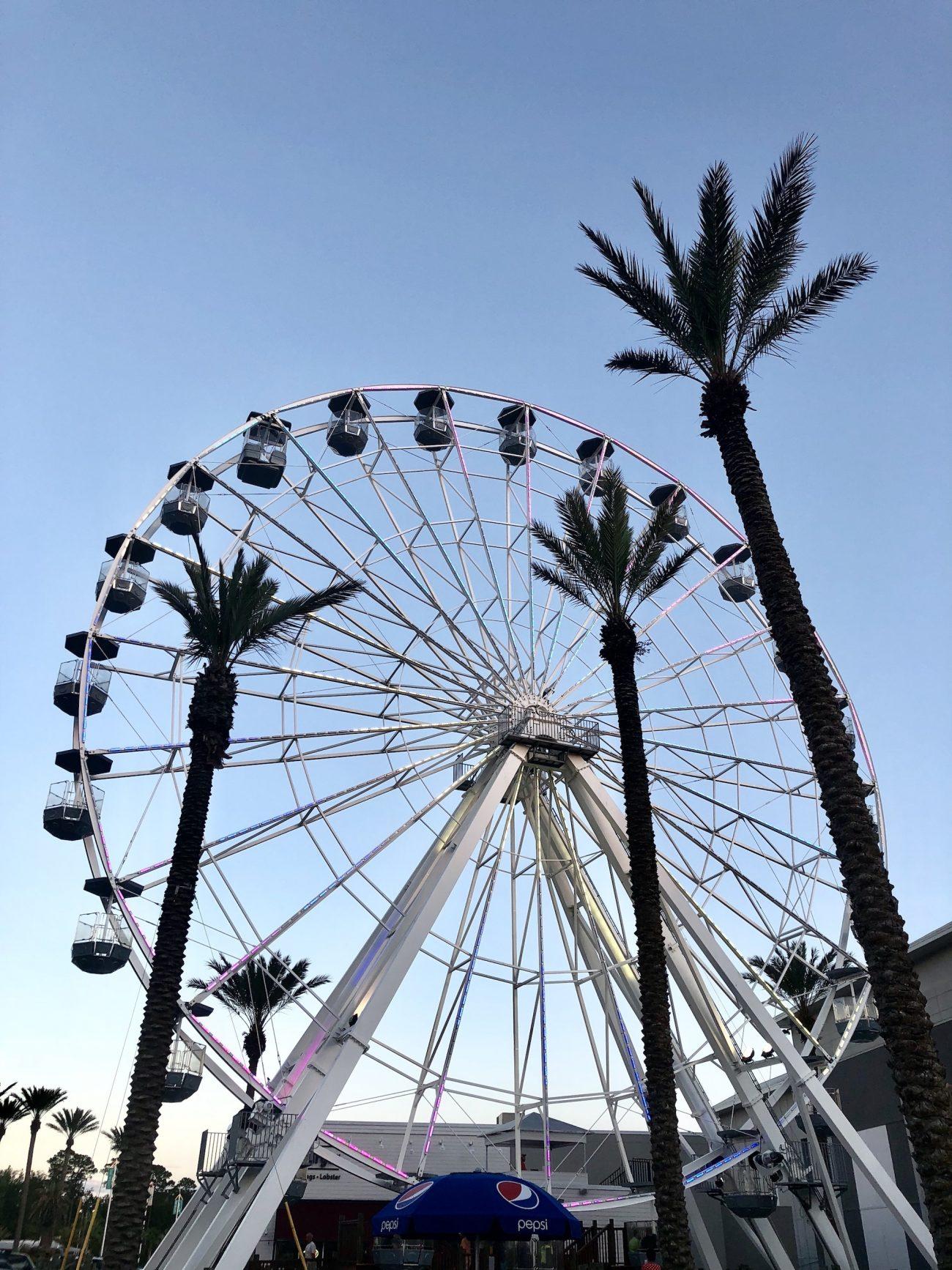 orange beach Ferris wheel