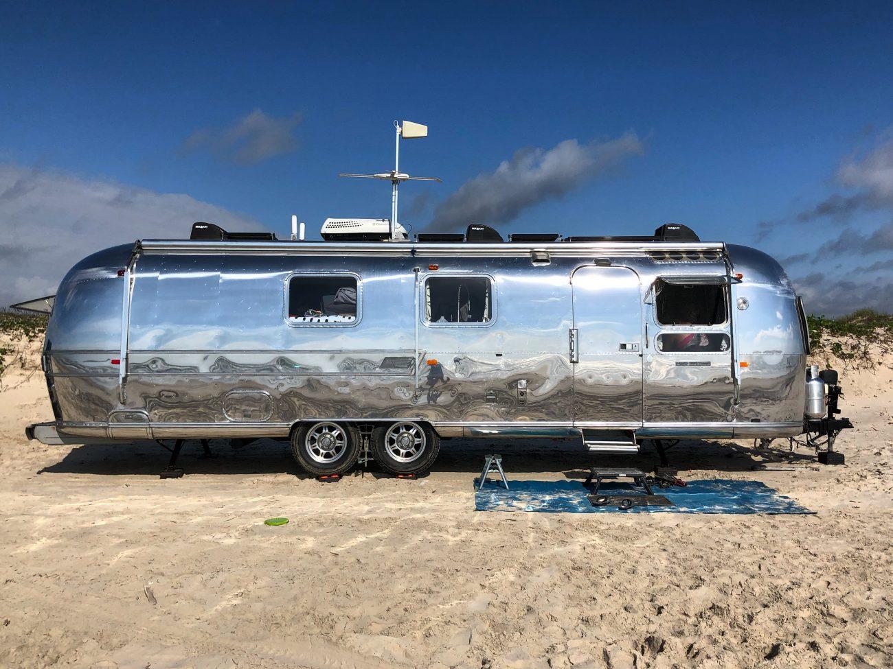 Padre Island Airstream