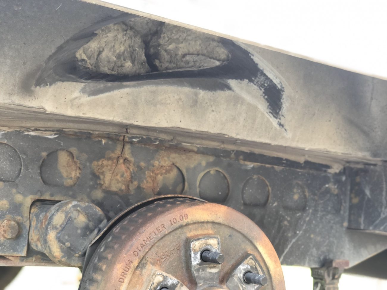 Problems with Airstream wheel well