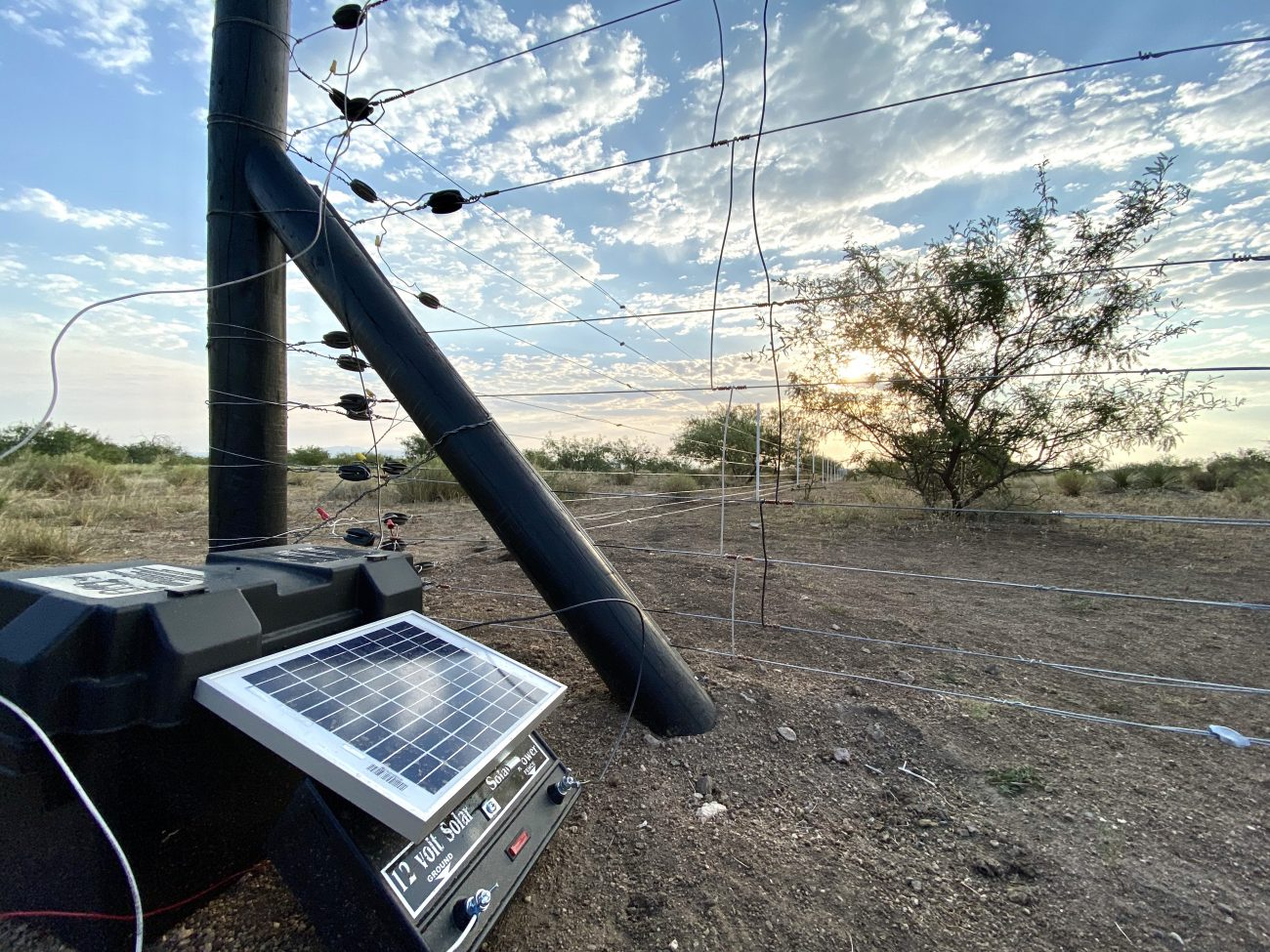 Electra Solar Fence Charger