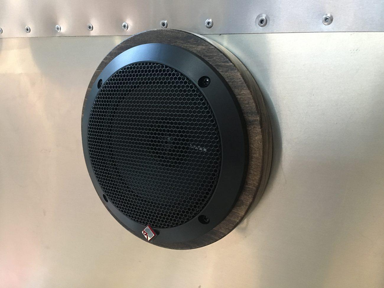 Speakers Mounted
