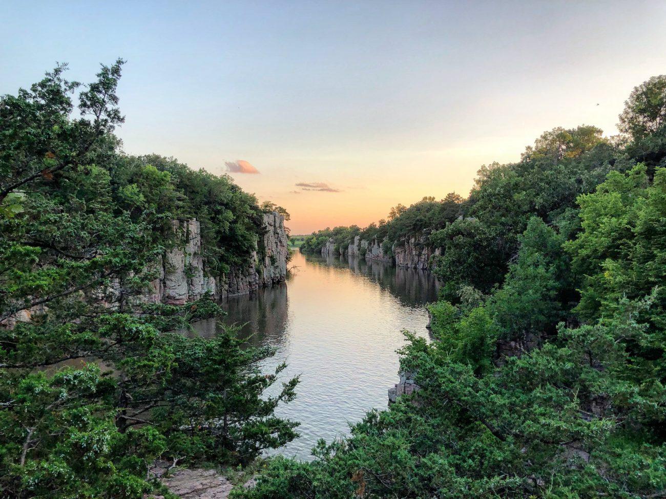 Split Rock Sunset