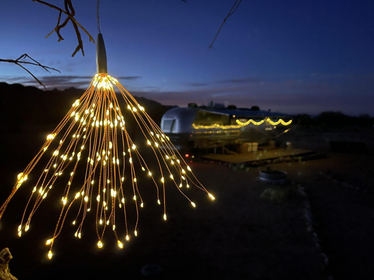 Starburst Sphere Lights