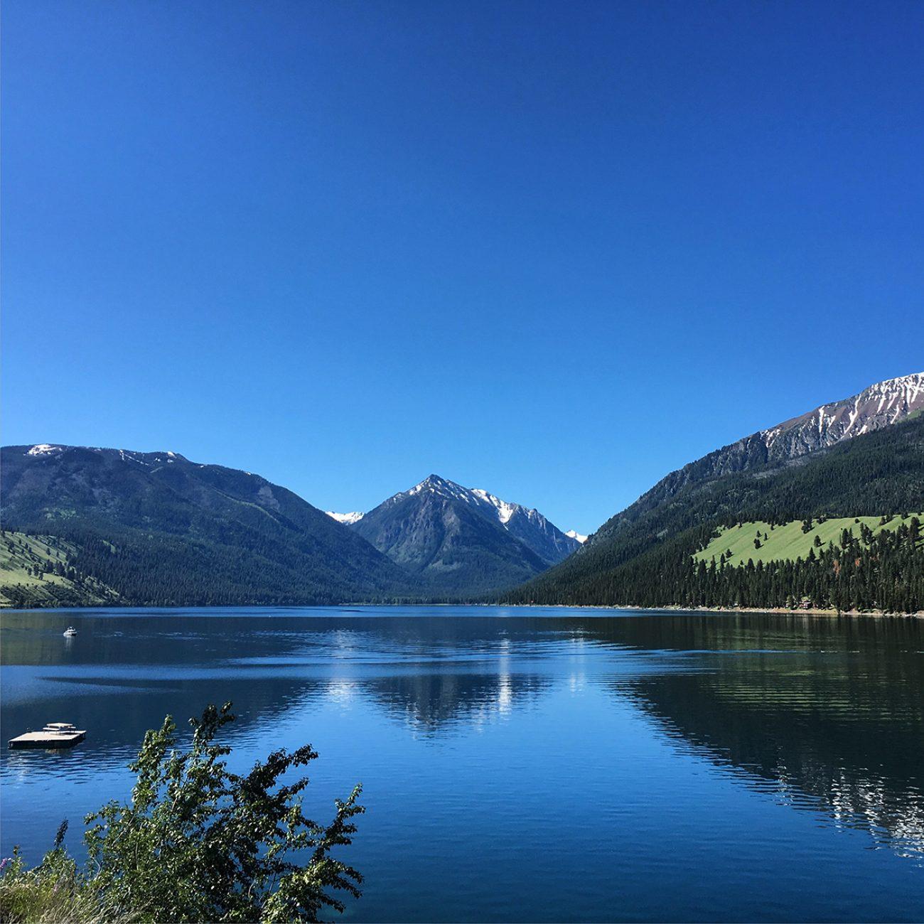 Wallowa Lake Sunny