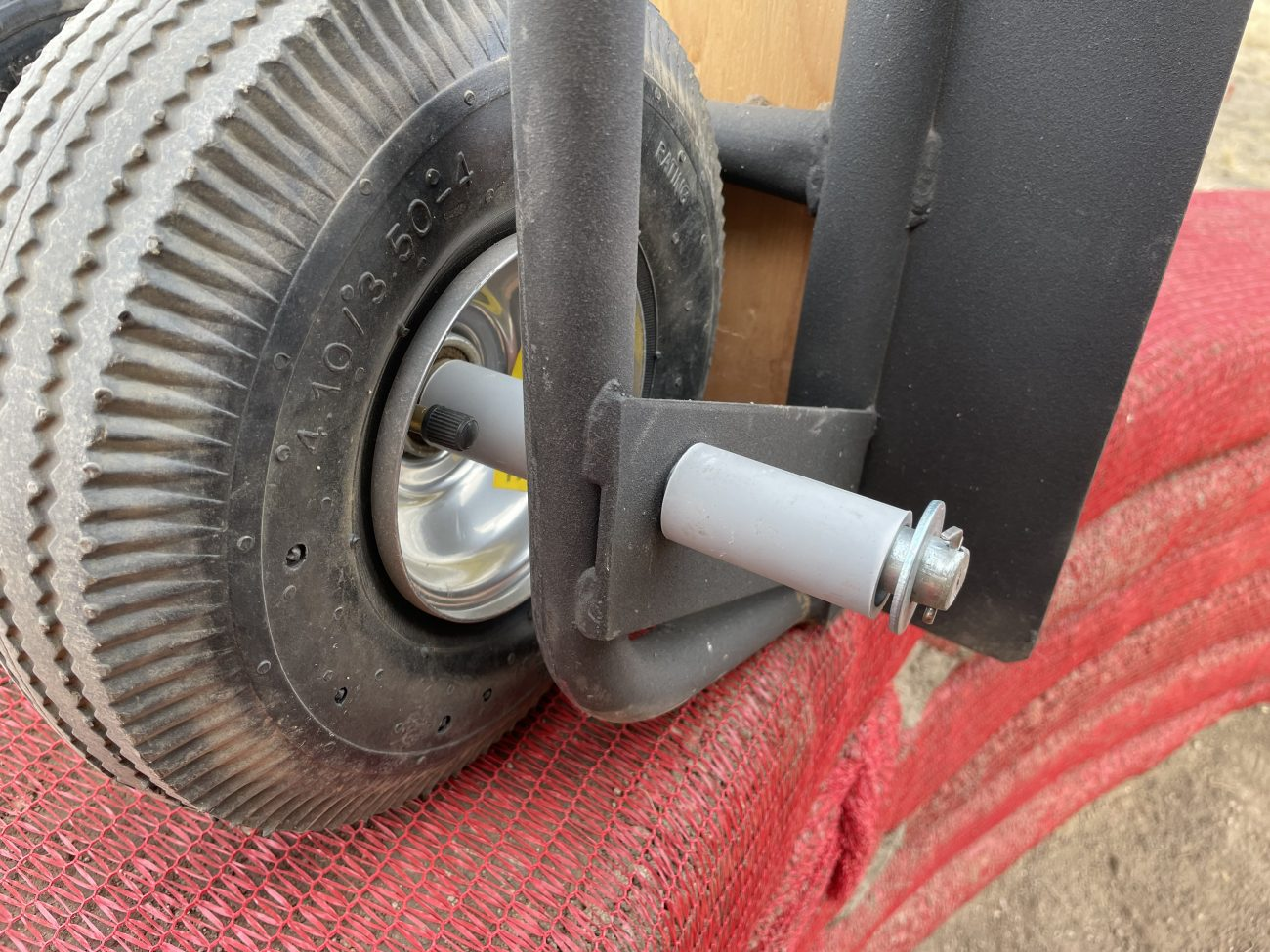 Dolly Wheels for Hyperadobe Earthbags