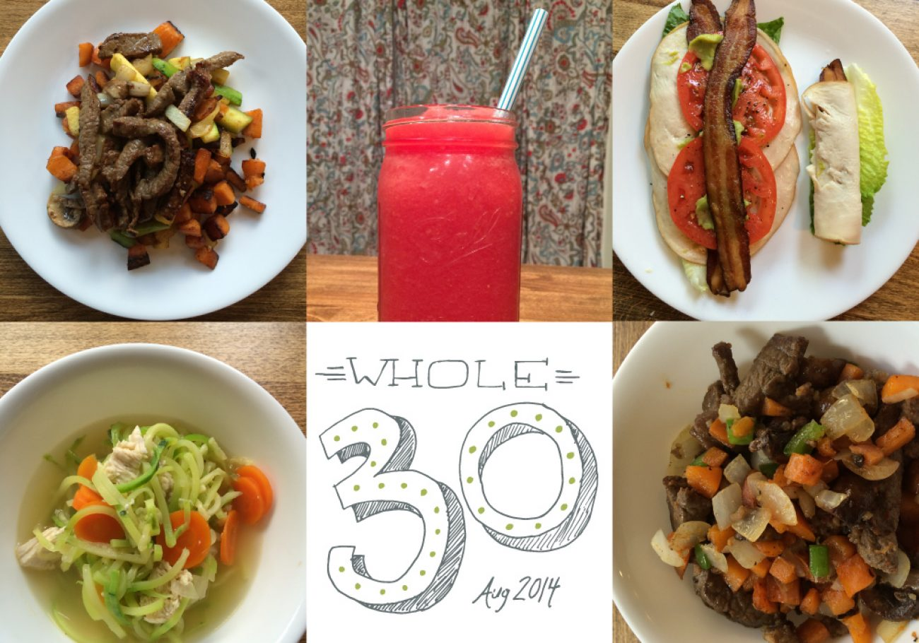 Whole30 Days 1 and 2