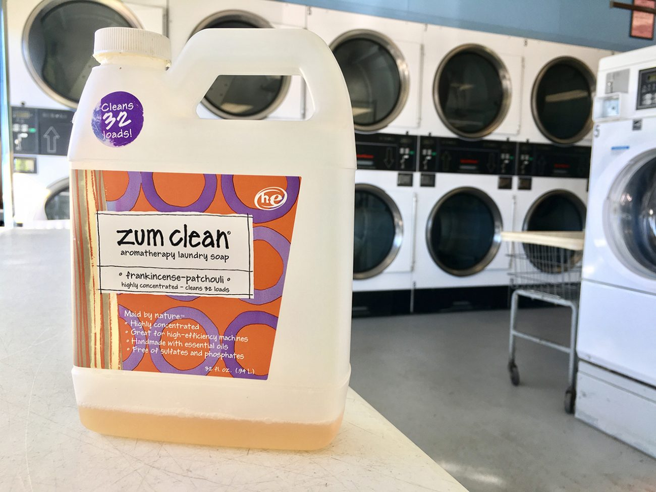 Zum Clean Laundry Soap Tiny Shiny Home