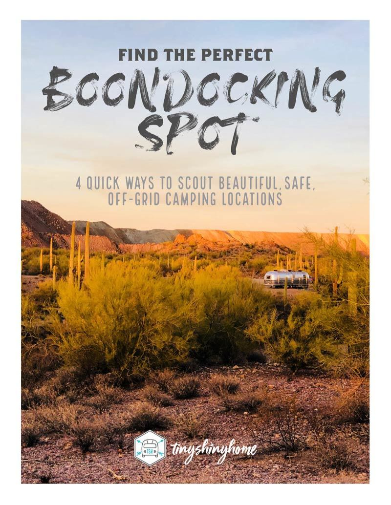 Find the perfect boondocking spot