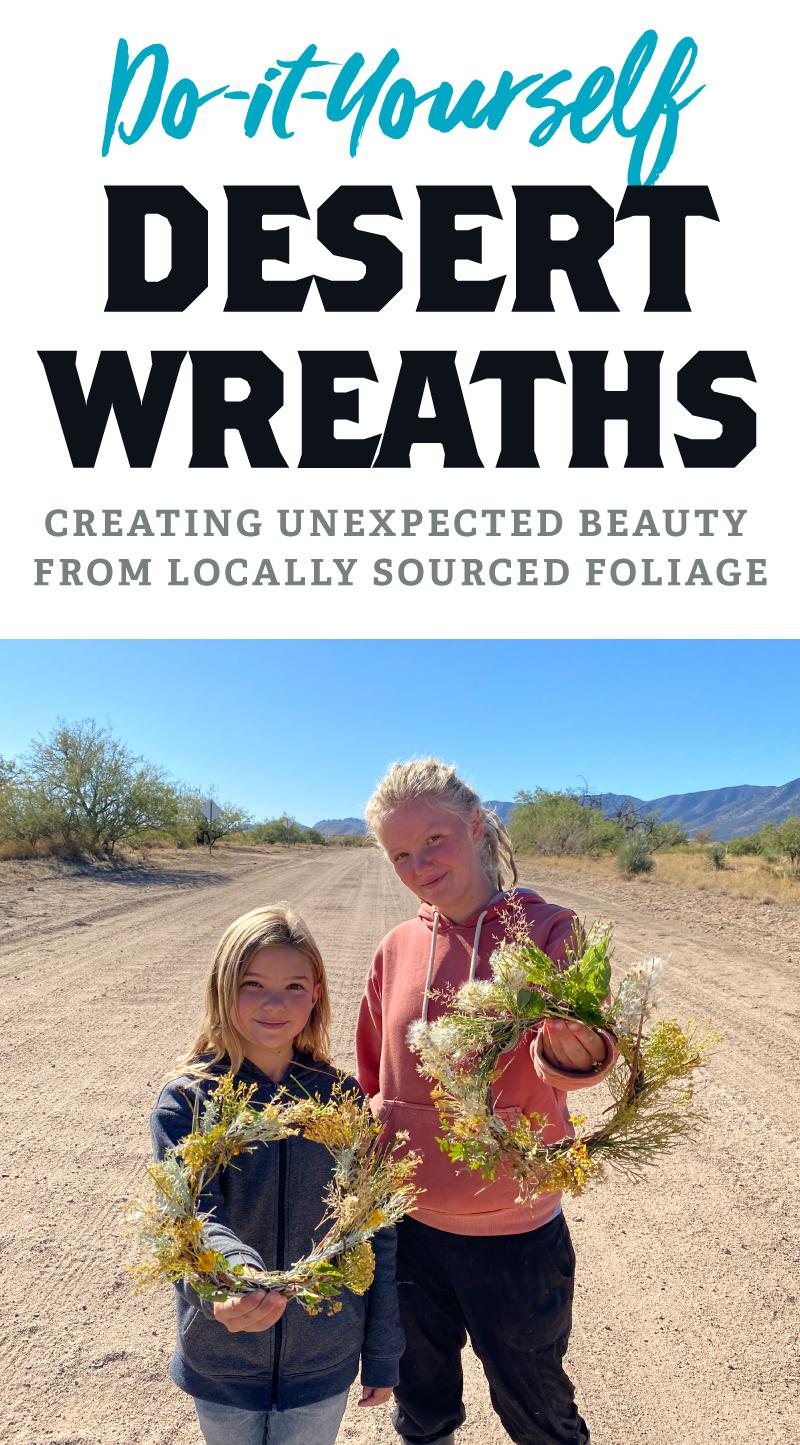 DIY Desert Wreaths