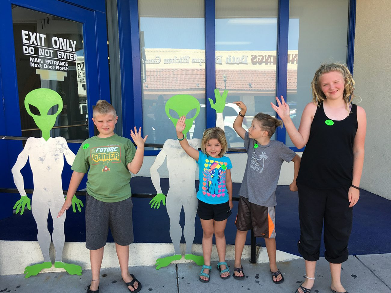 Outside Aliens With Kids