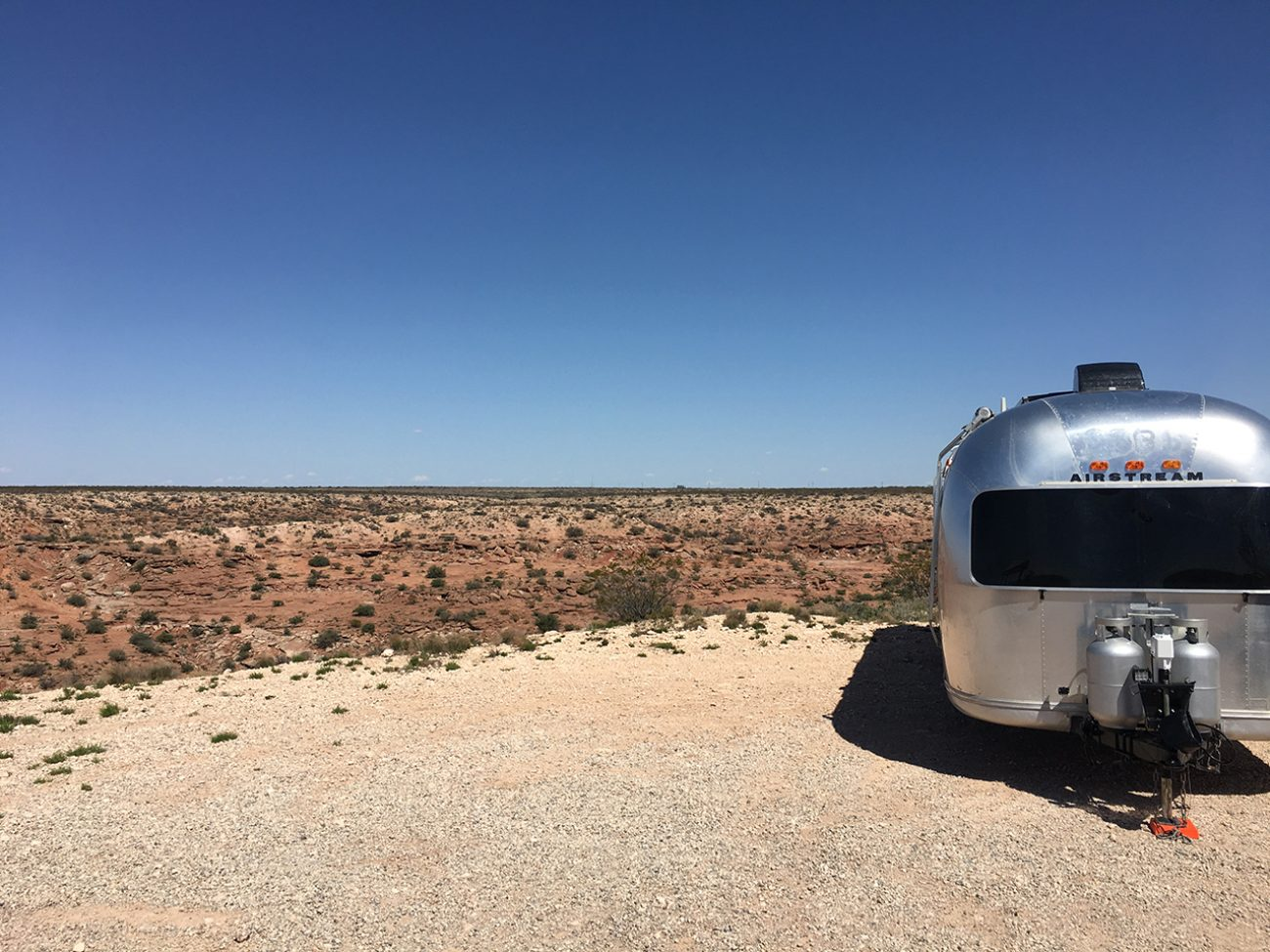 Roswell Empty Airstream